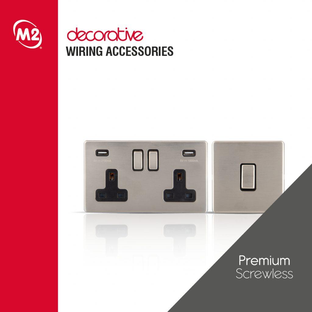 MP 537 - M2 Decorative Screwless Brochure - Square