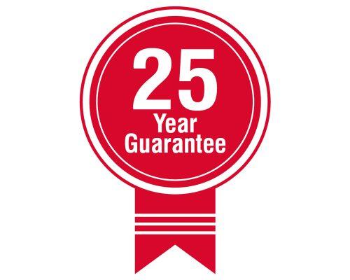 25 Years Guarantee